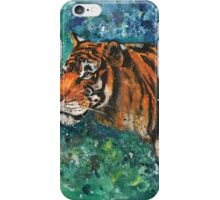 Focus, Tiger - Panthera tigris iPhone Case/Skin