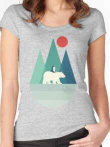 Bear You Women's Fitted Scoop T-Shirt
