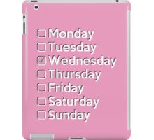 On Wednesdays... iPad Case/Skin