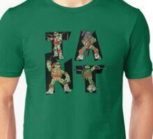 Teenage Mutant Ninja Turtles TMNT Letterforms Unisex T-Shirt