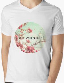 Oh Wonder Logo Mens V-Neck T-Shirt