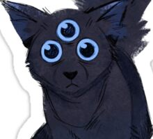 Scaredy Cat Sticker