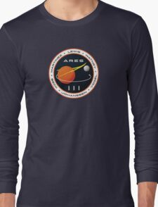 ARES 3 Mission Patch (Clean) - The Martian Long Sleeve T-Shirt