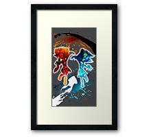 Splatoon Battle Framed Print
