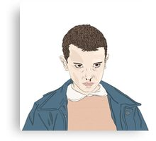 Eleven - Stranger Things Canvas Print