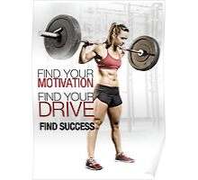 Find Your Motivation, Drive, and Success Poster