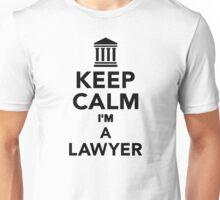 Keep calm I'm a lawyer Unisex T-Shirt