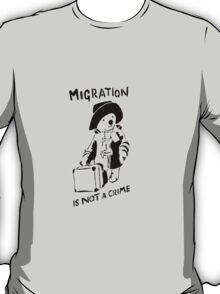 Migration Is Not A Crime - Banksy T-Shirt