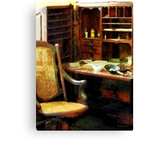 Doctor's Office Canvas Print