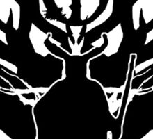 Cernunnos-Celtic God of the woods (dark version) Sticker