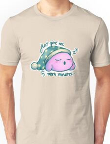 Kirby- 5 More Minutes Unisex T-Shirt