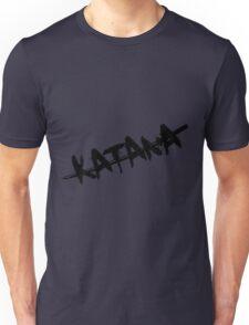 Black Katana Unisex T-Shirt
