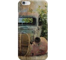 Without Wheels, I Can Only Rest iPhone Case/Skin