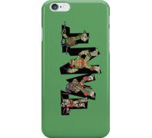 Teenage Mutant Ninja Turtles TMNT Letterforms iPhone Case/Skin