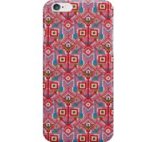 Pink Tribal Knitting Pattern iPhone Case/Skin