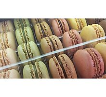 Macarons galore Photographic Print