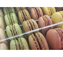 Macarons galore by Caroline Clarkson