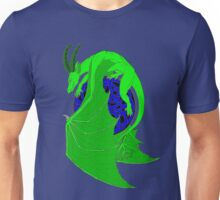 Green Celtic Dragon Design Unisex T-Shirt