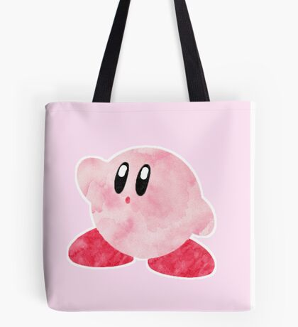 Watercolour Kirby! Tote Bag