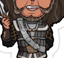 Star Trek TNG - Gowron Klingon Chancellor with D'k tahg Sticker