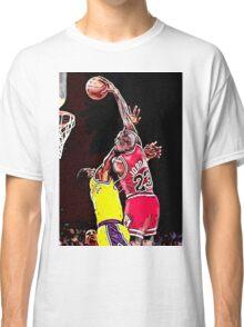 Old School NBA - Mike Classic T-Shirt