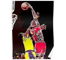Old School NBA - Mike Poster