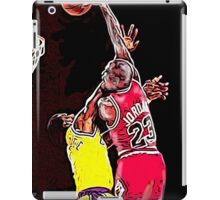 Old School NBA - Mike iPad Case/Skin