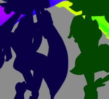 Squid Sisters Subs P and G Version Sticker
