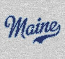 Maine Script VINTAGE by USAswagg