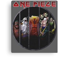 <ONE PIECE> One Piece Circle Style Canvas Print