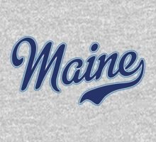 Maine Script Blue by USAswagg