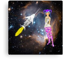 Starship Trooper - pillow & tote Canvas Print