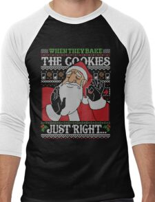 When They Bake The Cookies Just Right... Men's Baseball ¾ T-Shirt