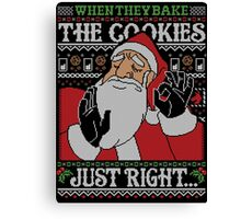When They Bake The Cookies Just Right... Canvas Print