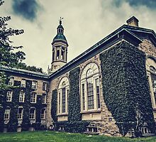 Princeton University Nassau Hall by Kadwell
