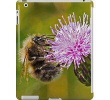 Bumble Bee on Thistle Head iPad Case/Skin