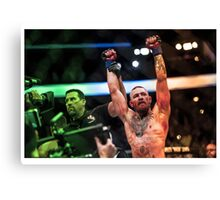 Conor Mcgregor wins UFC 202 Canvas Print