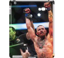 Conor Mcgregor wins UFC 202 iPad Case/Skin