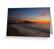 Aberystwyth Sunset Greeting Card