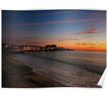 Aberystwyth Sunset Poster