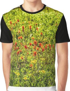 Indian Paintbrush Graphic T-Shirt
