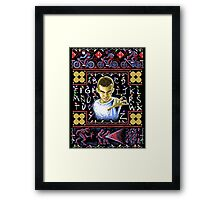 Ugly Things Framed Print