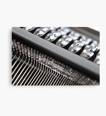 Typewriter .. Canvas Print