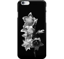 Black & White Flower iPhone Case/Skin
