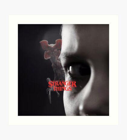 Stranger Things - Eleven Art Print