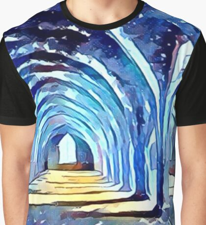 Fountains Abbey Series 003: Historical Blues Graphic T-Shirt