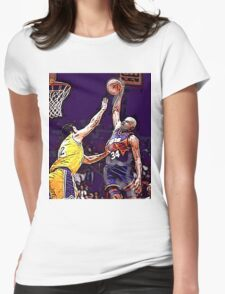 Old School NBA - Charles Womens Fitted T-Shirt