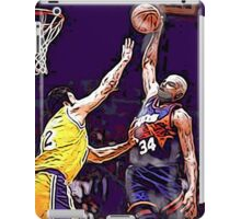 Old School NBA - Charles iPad Case/Skin