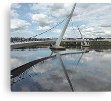 Peace Bridge Reflections............................Derry/Londonderry Canvas Print