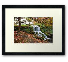 Littlebredy waterfall Framed Print